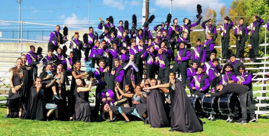 The Westhill Marching Band performed at the US Bands National Championships in Allentown, PA on Nov. 3. Photo: Contributed / Contributed Photo / Westport News contributed