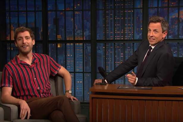 """Seth Meyers interviews """"Silicon Valley"""" star Thomas Middleditch."""