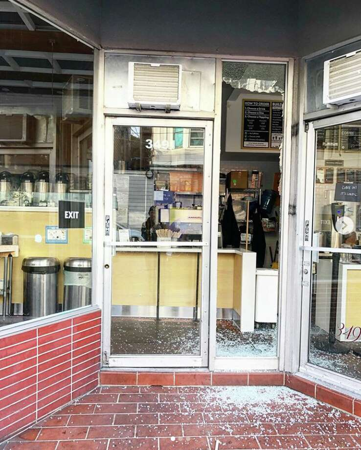 Boba Guys Mission was burglarized early Tuesday morning in what would be the third robbery for the tea room this year. Photo: Boba Guys