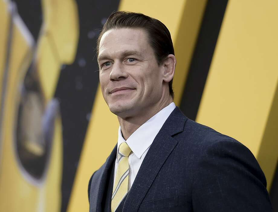 """FILE - This Dec. 9, 2018 file photo shows John Cena at the premiere of """"Bumblebee"""" in Los Angeles. Cena stars in """"64th Man"""", an audio series premiering on Audible on Thursday.  (Photo by Richard Shotwell/Invision/AP, File) Photo: Richard Shotwell, Associated Press"""