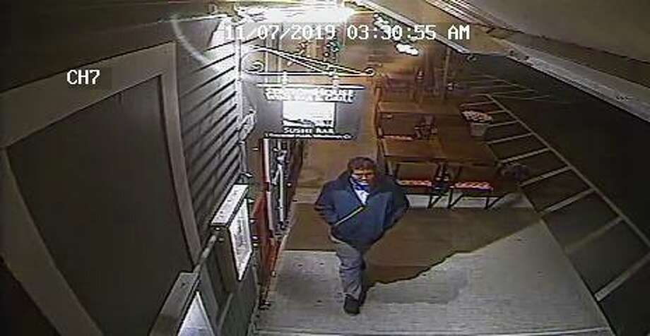 Stratford, Conn., police are investigating a burglary at the train station that happened on Nov. 7, 2019. Photo: Contributed Photo / Stratford Police Department