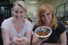 """Scenes from the food episode of the new TV show """"Crash Test World,"""" which was created by Capital Region native Jenny Buccos. The show is hosted by Kari Byron, who is best known for her work on """"Mythbusters."""""""