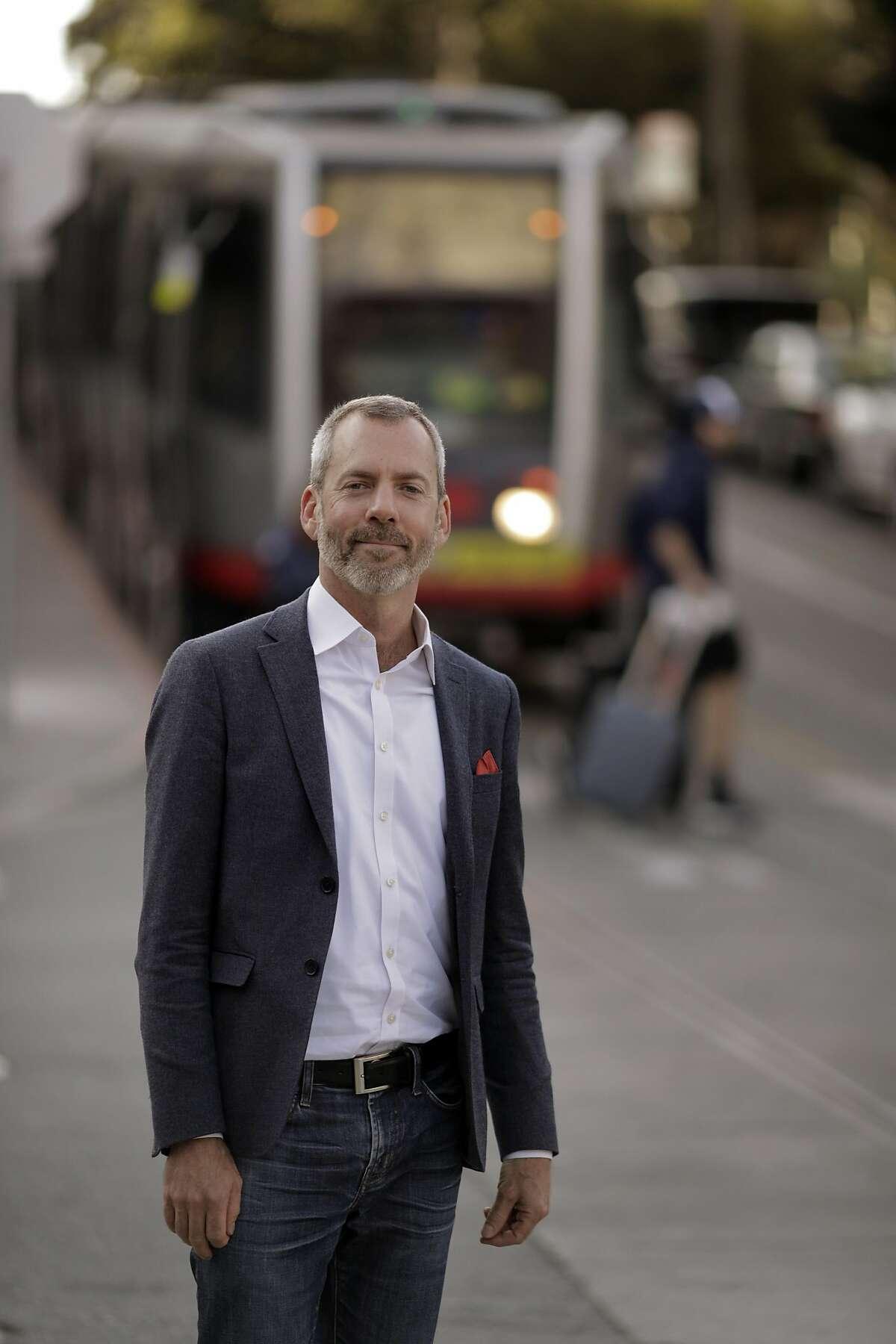 New San Francisco Municipal Transportation Agency director Jeffrey Tumlin in San Francisco , Calif., on Tuesday, November 11/12/19, 2019.