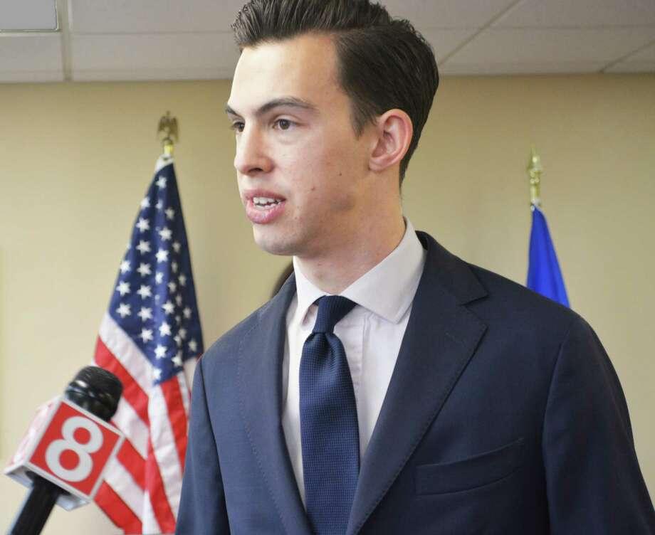 Mayor Ben Florsheim. Photo: Cassandra Day / Hearst Connecticut Media File Photo /