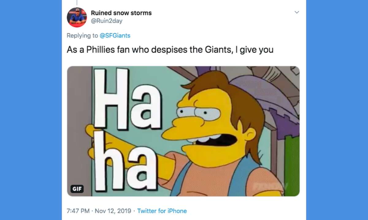 Giants fans (and haters) react to the announcement that Gabe Kapler will replace Bruce Bochy as manager.