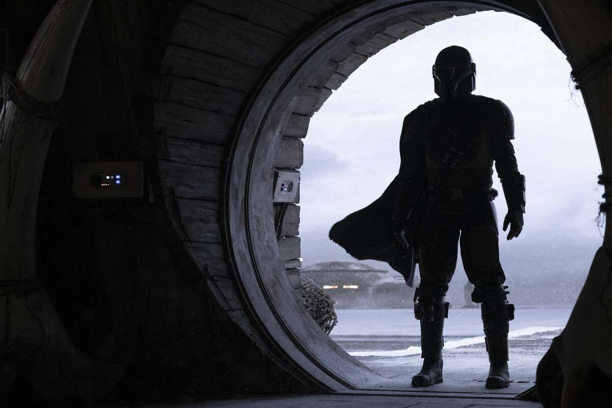 Pedro Pascal is the Mandalorian in the Disney+ series