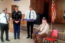 Two Manistee County veterans were honored on Veterans Day for their service in the Korean War. (Courtesy Photo)