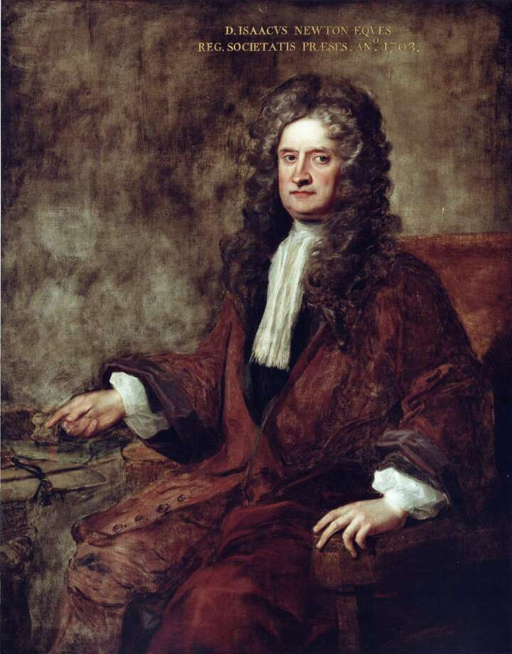 Sir Isaac Newton. Photo: Royal Society / AP / PA