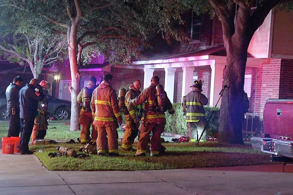An East Side couple was displaced from their home after a fire broke out Tuesday night.