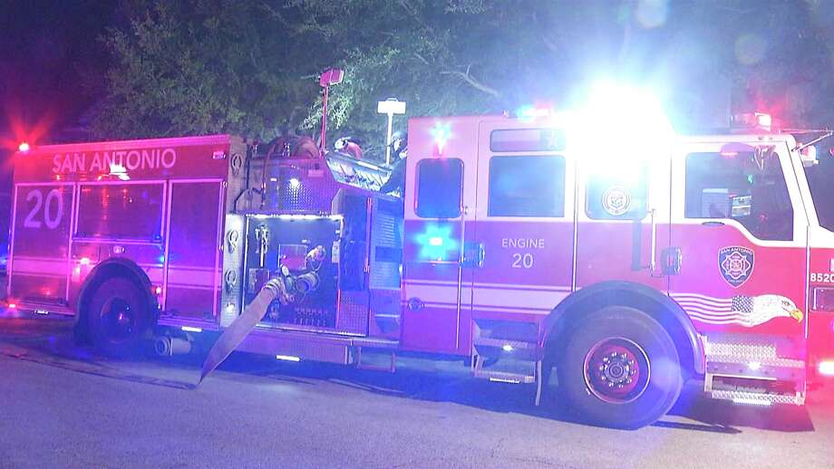 An East Side couple was displaced from their home after a fire broke out Tuesday night. Photo: Ken Branca