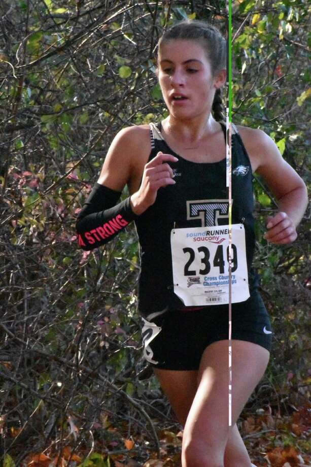 Alessandra Zaffina has chosen to run cross country for the Quinnipiac University Bobcats. Photo: Contributed Photo / Trumbull High Athletics / Trumbull Times