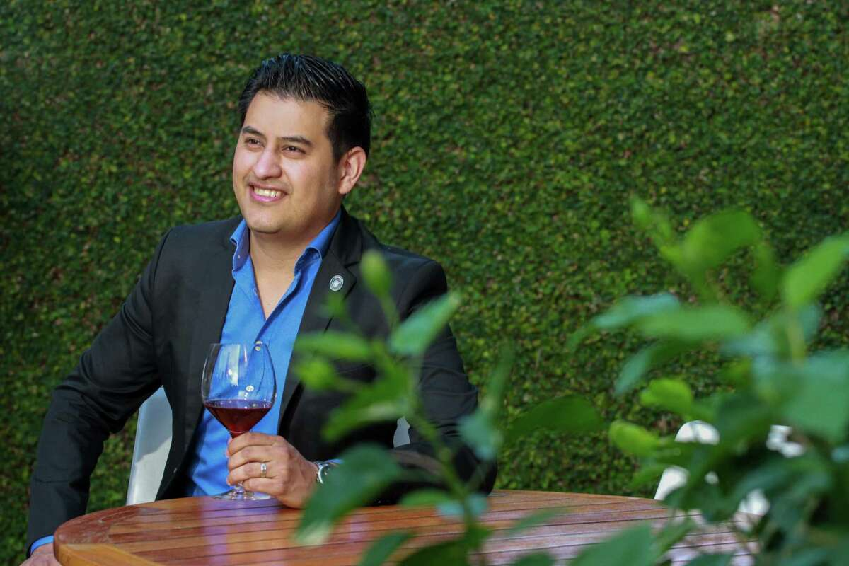 Sommelier Andres Blanco at Caracol