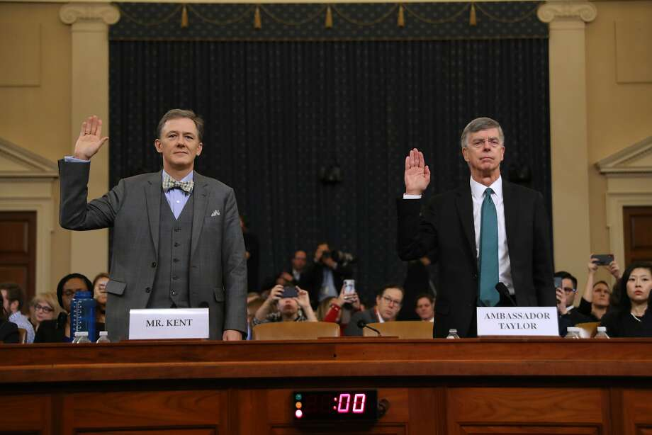 Trump public impeachment hearings