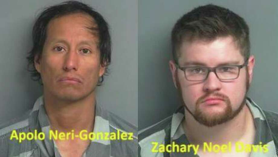 Apolo Neri-Gonzalez (left) and Zachary Noel Davis (right)