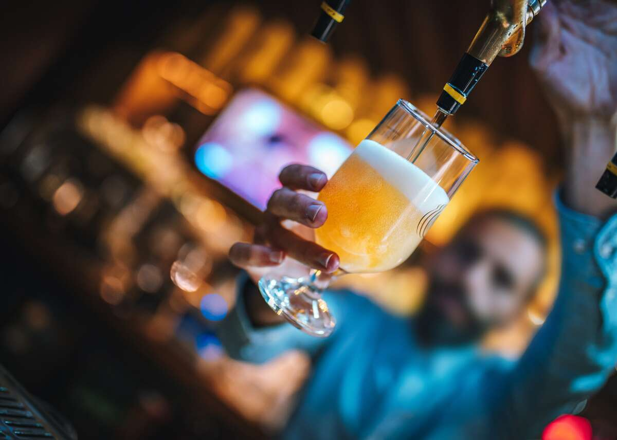 The cost of a beer the year you turned 21