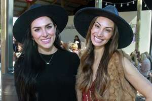 EMBARGOED FOR SOCIETY REPORTER UNTIL NOV. 12 Anna Van Delden, left, and April Salazar at Recipe for Success Houston's Fashion in the Fields, at Hope Fields on November 10, 2019.