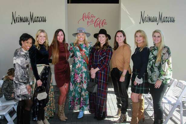 EMBARGOED FOR SOCIETY REPORTER UNTIL NOV. 12 Co-chairs at Recipe for Success Houston's Fashion in the Fields, at Hope Fields on November 10, 2019.