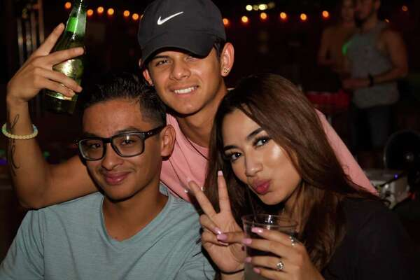 Andrew Munoz, Jacob Hernandez and Michelle Guillen get together at The Social Spot.