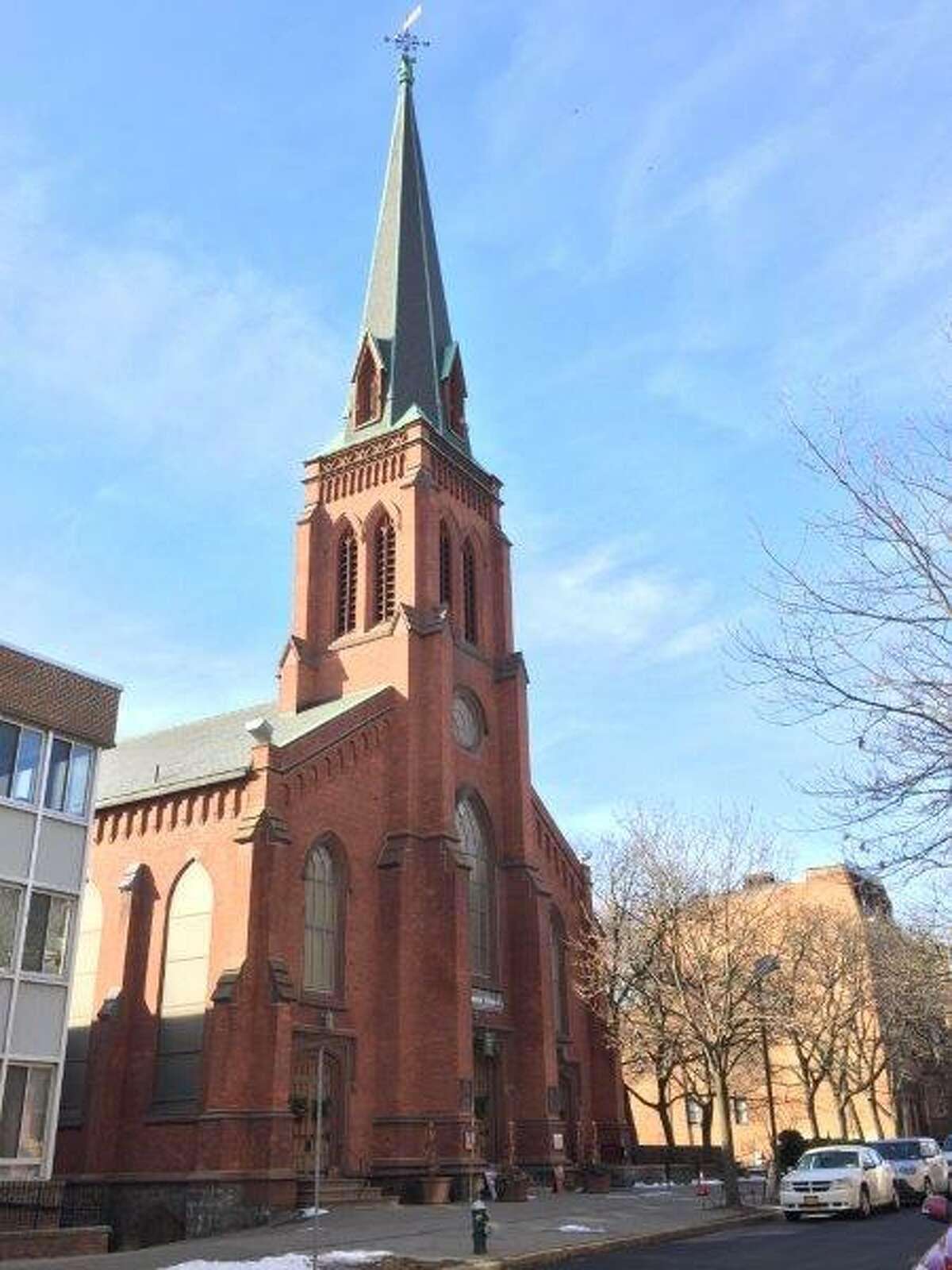 Westminster Presbyterian Church in Albany.