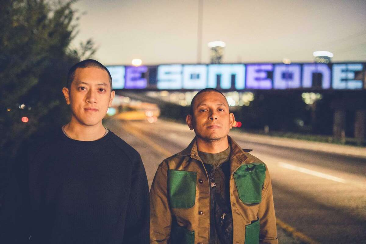 Billy Baccam, left, and Alex Ramos, who collaborate as the creative lab duo Input Output, have won the Zocolo Apartment's first year-long artist residency, which begins in January.