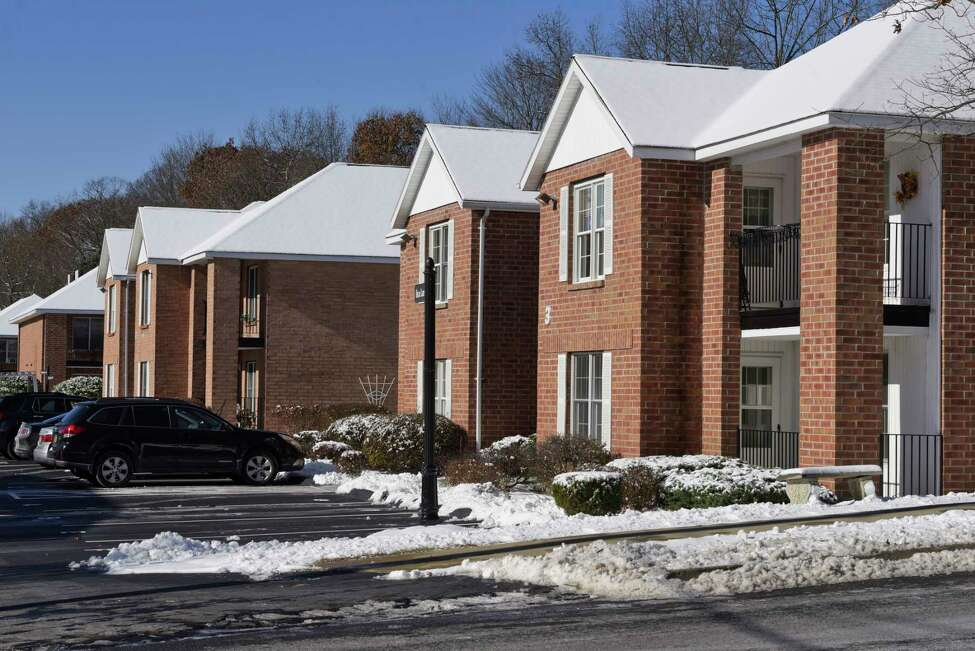 A view of the Mohican Hills apartments on Wednesday, Nov. 13, 2019, in Ballston Spa, N.Y. (Paul Buckowski/Times Union)