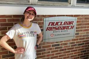 Shenendehowa High School alumna Katelyn Cook, now a PhD physics student, has received the prestigious Apker Award for her work with nuclear energy.