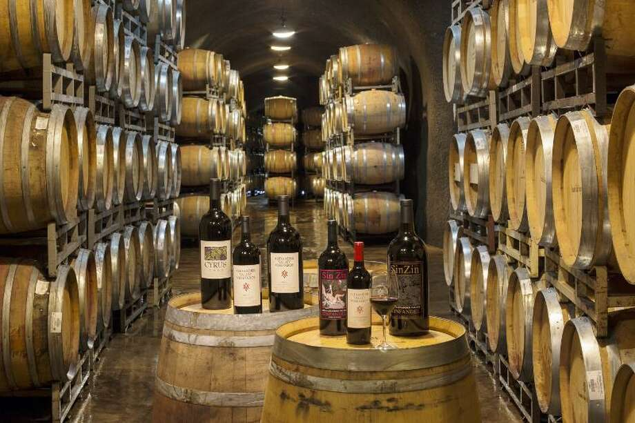 "Wines during the Kinkade Fires were safe in the caves of Alexander Valley Vineyards. When visiting Alexander Valley Vineyards, make sure you go through their ""Wine Cave Tours."" Photo: Courtesy Photo, Photographer / M. J. Wickham 2013"