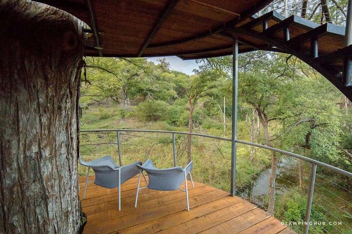 Tree House in Spicewood Sleeps: 3 Average rate per night: $728