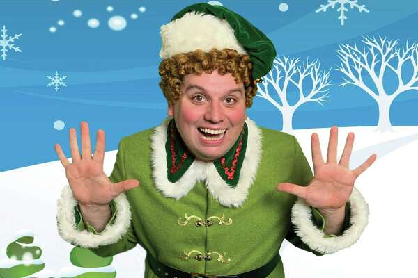 """James R. Welch plays the title role in The Public Theater of San Antonio's staging of the musical """"Elf."""""""