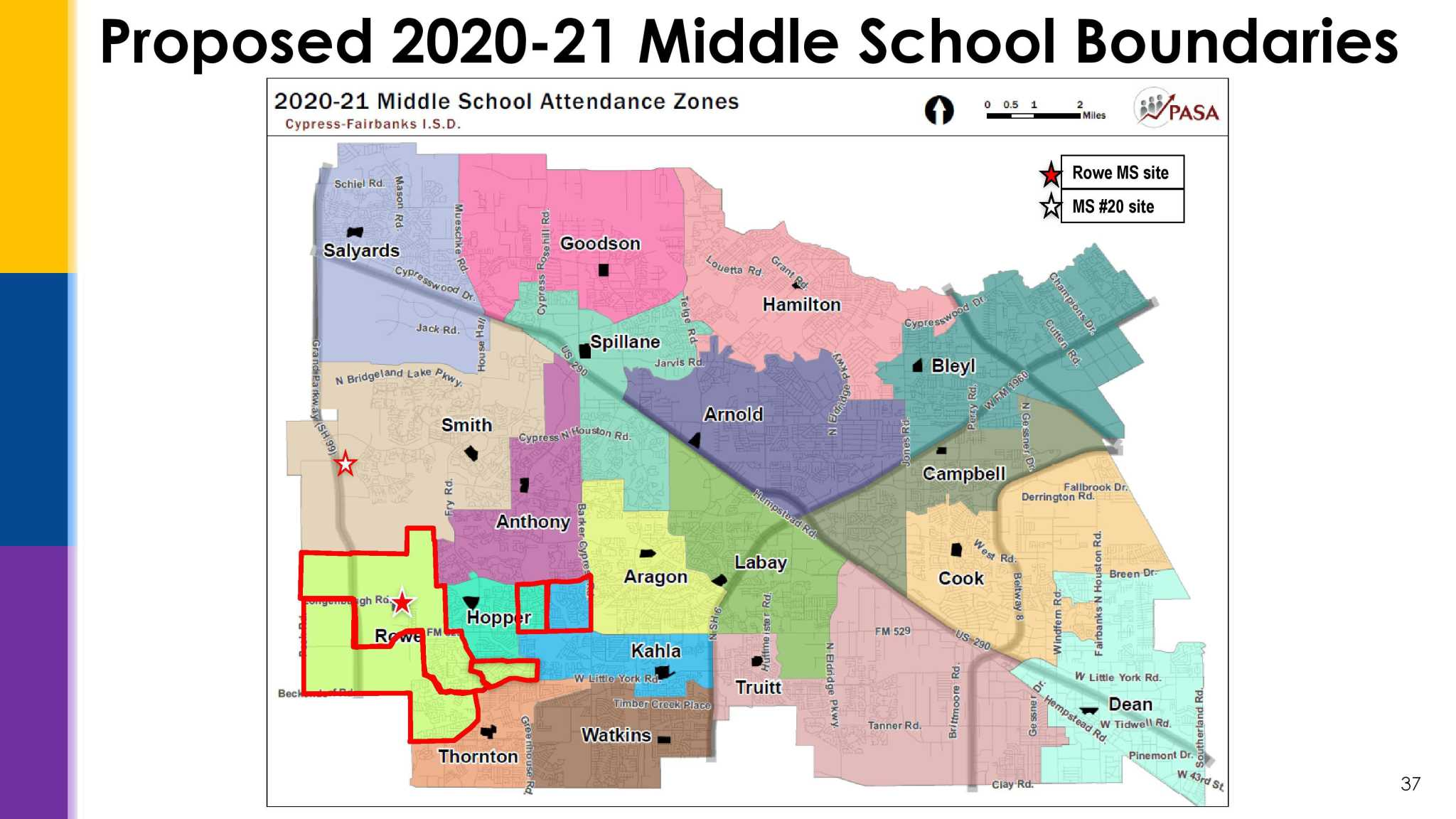 Cy-Fair ISD prepares to rezone ahead of middle school opening in 2020
