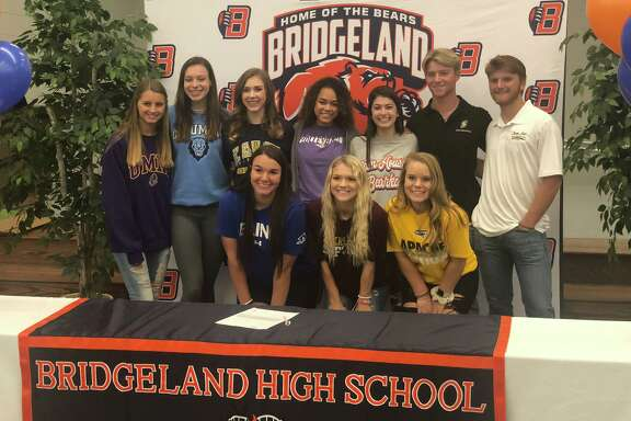 Bridgeland athletes signed their letters of intent during the early signing day period, Nov. 13, at Bridgeland High School.