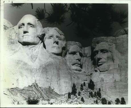 Symbol of the Nation: Mount Rushmore National Memorial, in South Dakota's Black Hills, bears the sculptures of Presidents Washington, Jefferson, Theodore Roosevelt and Lincoln. Since work on Mount Rushmore finished in 1941 it has grown in stature to become a national symbol ranking with the Capitol Dome and Statue of Liberty. In a survey conducted by the United States Travel Service, Mount Rushmore was picked as one of the seven man-made wonders of the United States.