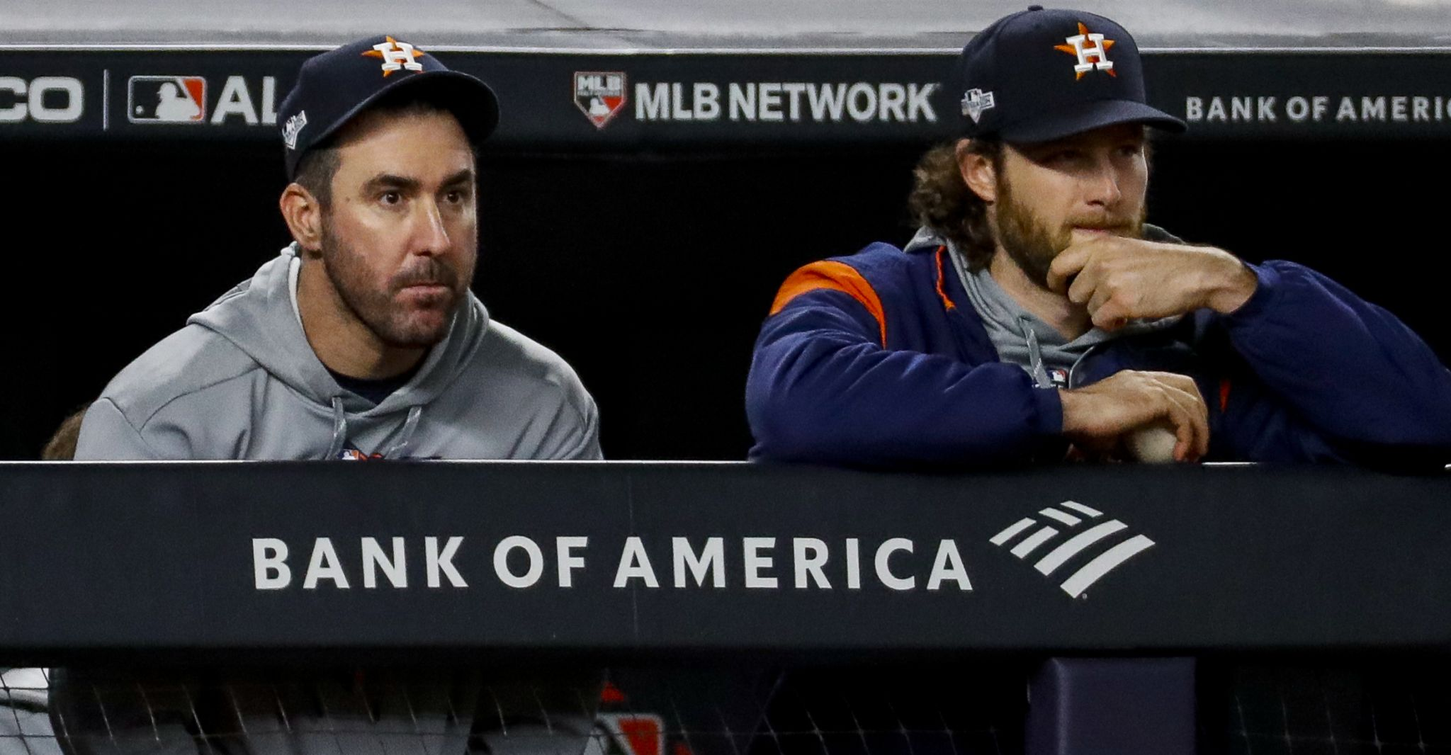 Astros' Justin Verlander, Gerrit Cole earn All-MLB honors