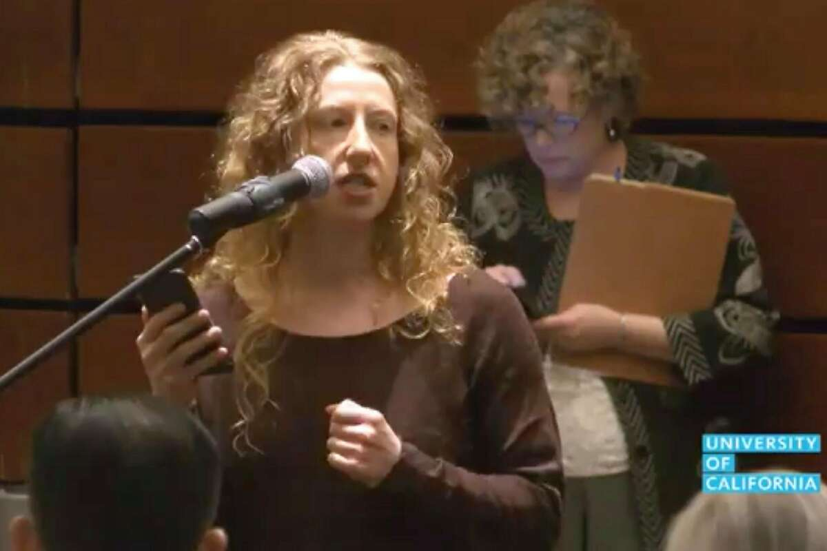 At the University of California regents public session Wednesday, a doctoral student named Rebecca Ora publicly accused Regent George Kieffer (not pictured) of putting his hand on her upper thigh at a dinner in 2014. Mr. Kieffer, appointed in 2009, denies the allegations.