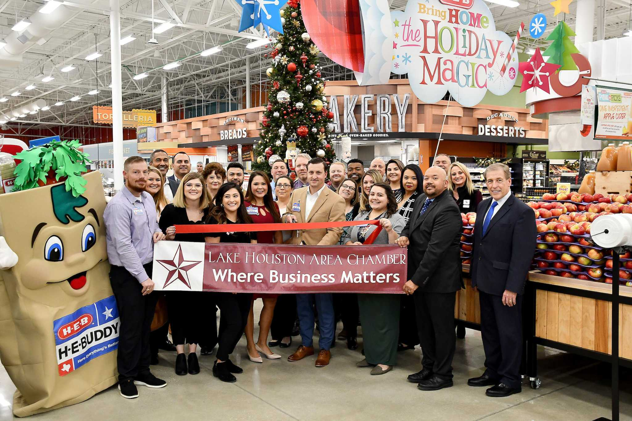 H-E-B on Northpark Drive opens today