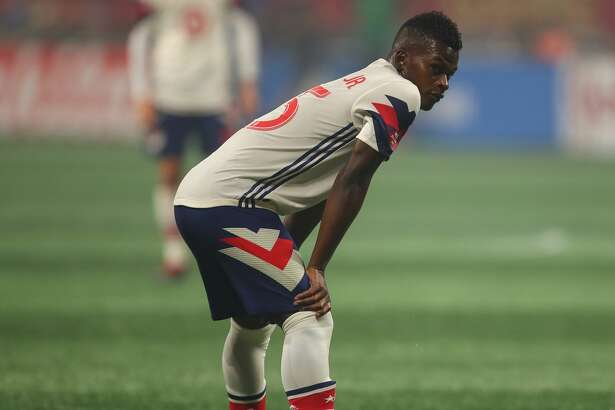 ATLANTA, GA - AUGUST 01: Darwin Quintero of MLS All Stars during the 2018 MLS All-Stars game between Juventus v MLS All-Stars at Mercedes-Benz Stadium on August 1, 2018 in Atlanta, Georgia. (Photo by Robbie Jay Barratt - AMA/Getty Images)