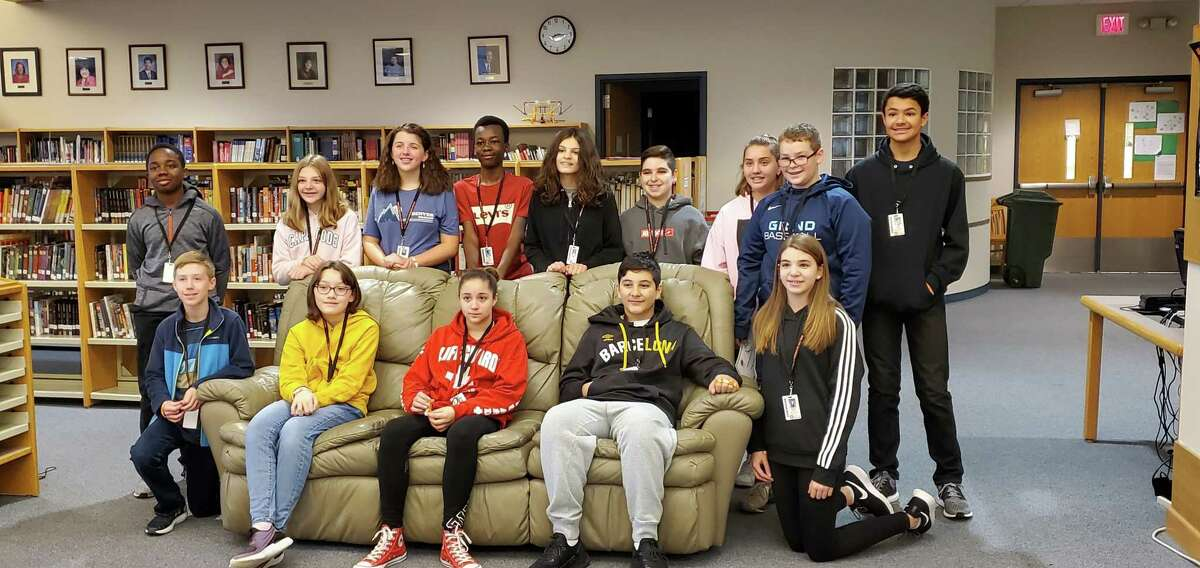 Shelton Intermediate School's Students of the Month for October.