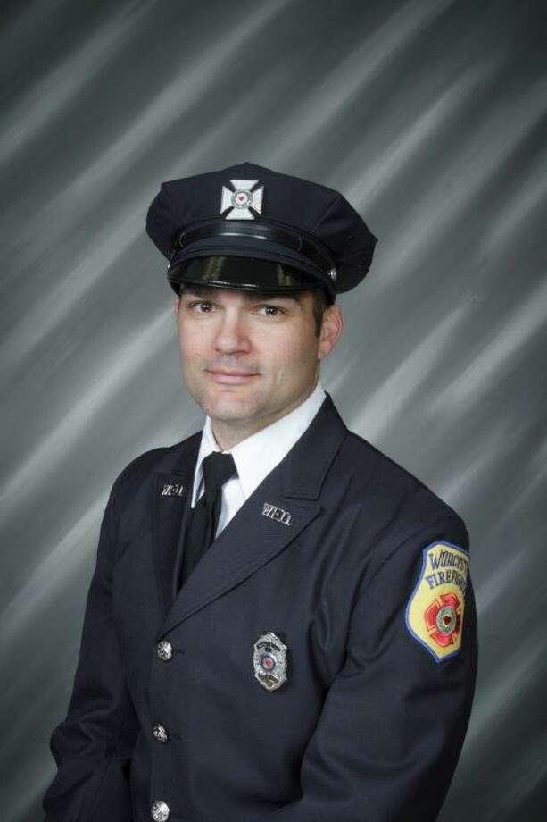Lt. Jason Menard of the Worcester Fire Department Photo: Contributed Photo / Worcester Fire Department