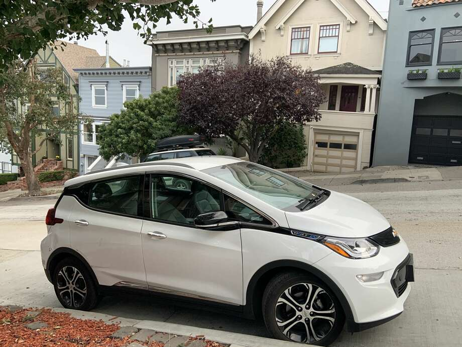 A Chevy Bolt electric vehicle parked in San Francisco. Photo: A. Graff