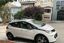 A Chevy Bolt electric vehicle parked in San Francisco.