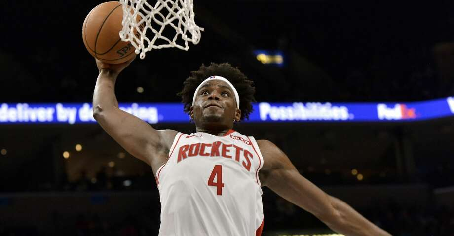 PHOTOS: Rockets game-by-game Houston Rockets forward Danuel House Jr. (4) dunks in the first half of an NBA basketball game against the Memphis Grizzlies, Monday, Nov. 4, 2019, in Memphis, Tenn. (AP Photo/Brandon Dill) Browse through the photos to see how the Rockets have fared in each game this season. Photo: Brandon Dill/Associated Press