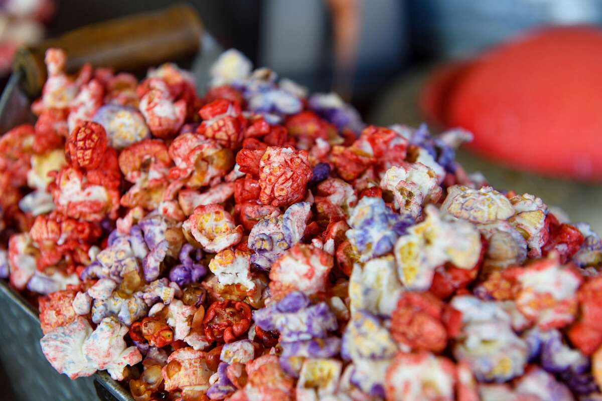 Outpost popcorn available at The Marketplace at Star Wars: Galaxy's Edge at Disneyland. The popcorn was originally called Outpost mix.