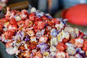 ANAHEIM, CA - MAY 29: Outpost popcorn available at The Marketplace at Star Wars: Galaxy's Edge at Disneyland in Anaheim, CA, on Wednesday, May 29, 2019. ((Photo by Jeff Gritchen/MediaNews Group/Orange County Register via Getty Images))