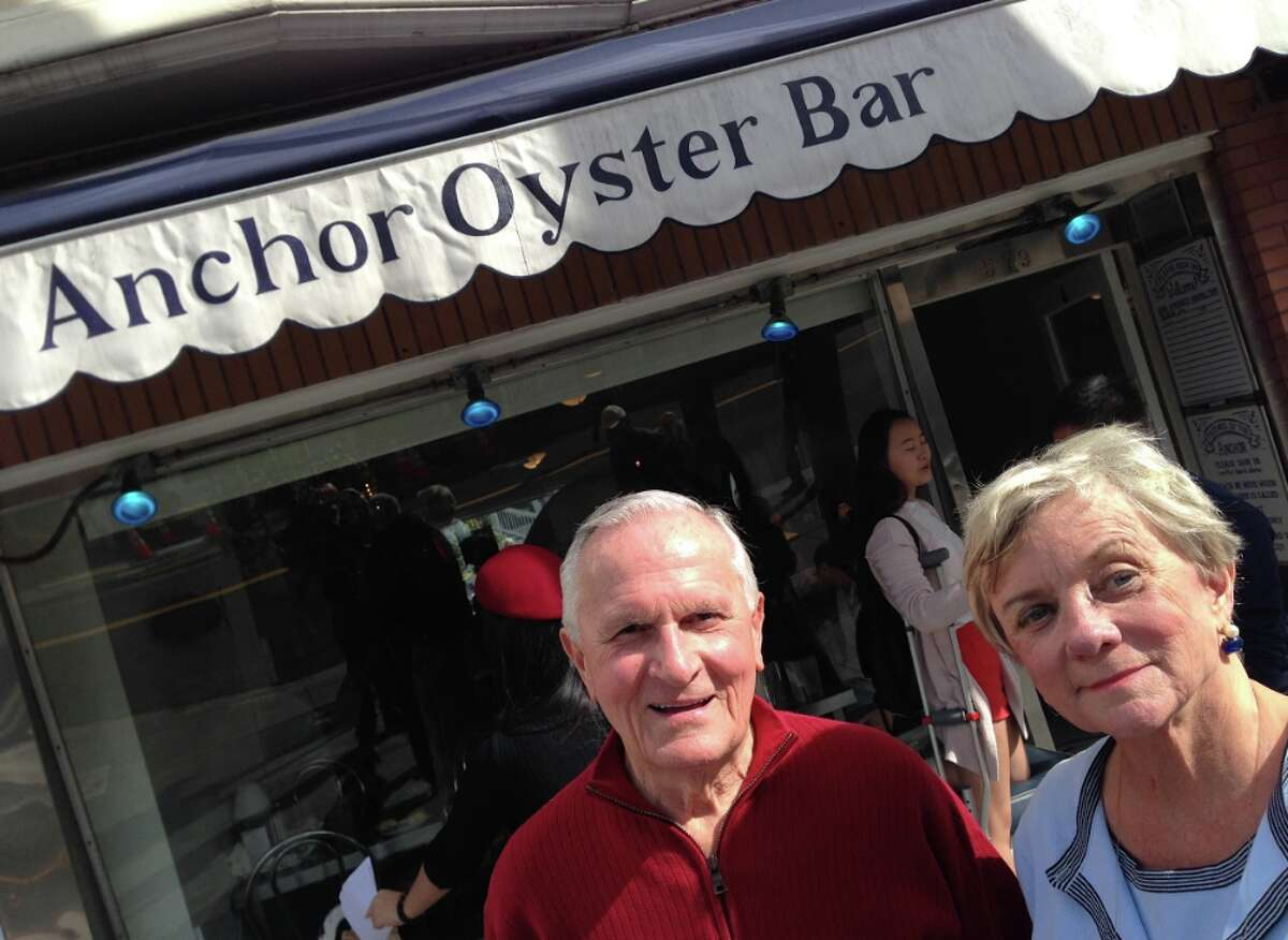 My mom and dad love visiting San Francisco, and dining at one of their favorites, Anchor Oyster Bar in the Castro