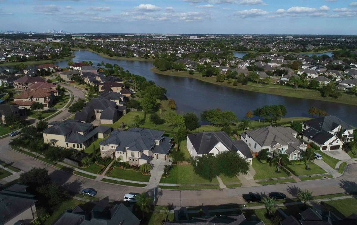 The Shadow Creek neighborhood is one of the newest and largest neighborhoods, a master planned community, in Pearland, Texas. Photographed Sunday, Nov. 10, 2019, in Houston.