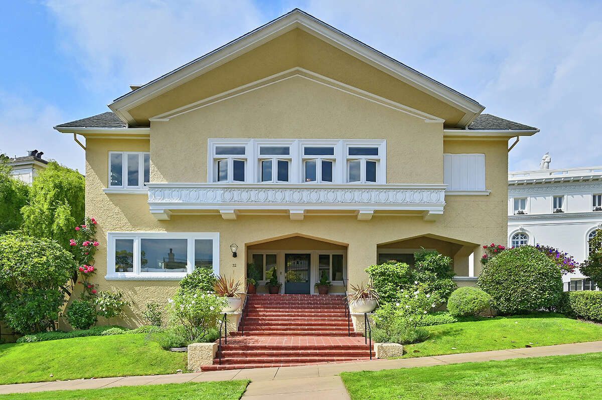 Over 100 years old, this Presidio Terrace abode has had only two owners. Be the third for $10 million.