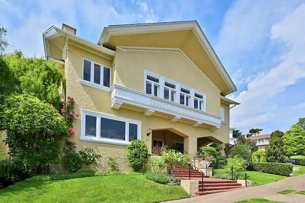 Over 100 years old, this Presidio Terrace abode has had only two owners. Be the third for $10M