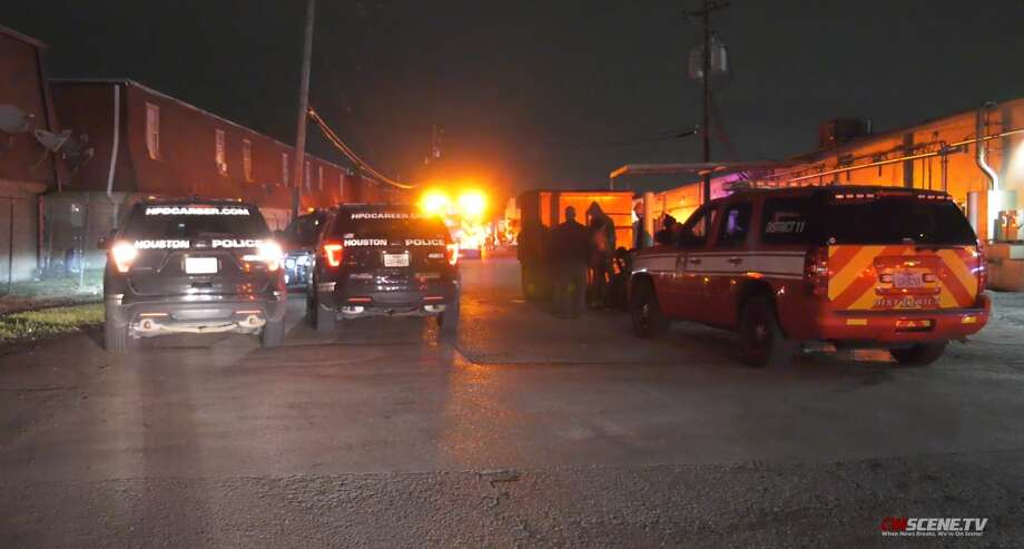 OnScene.tv images from a trench collapse that killed one in the 5600 block of the North Freeway, Nov. 13. Photo: OnScene.tv