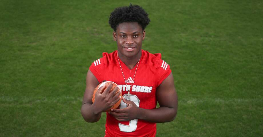 Dematrius Davis, North Shore High School quarterback, is the All Greater Houston Offensive Player of the Year Sunday, Dec. 30, 2018, in Houston. Photo: Steve Gonzales/Staff Photographer