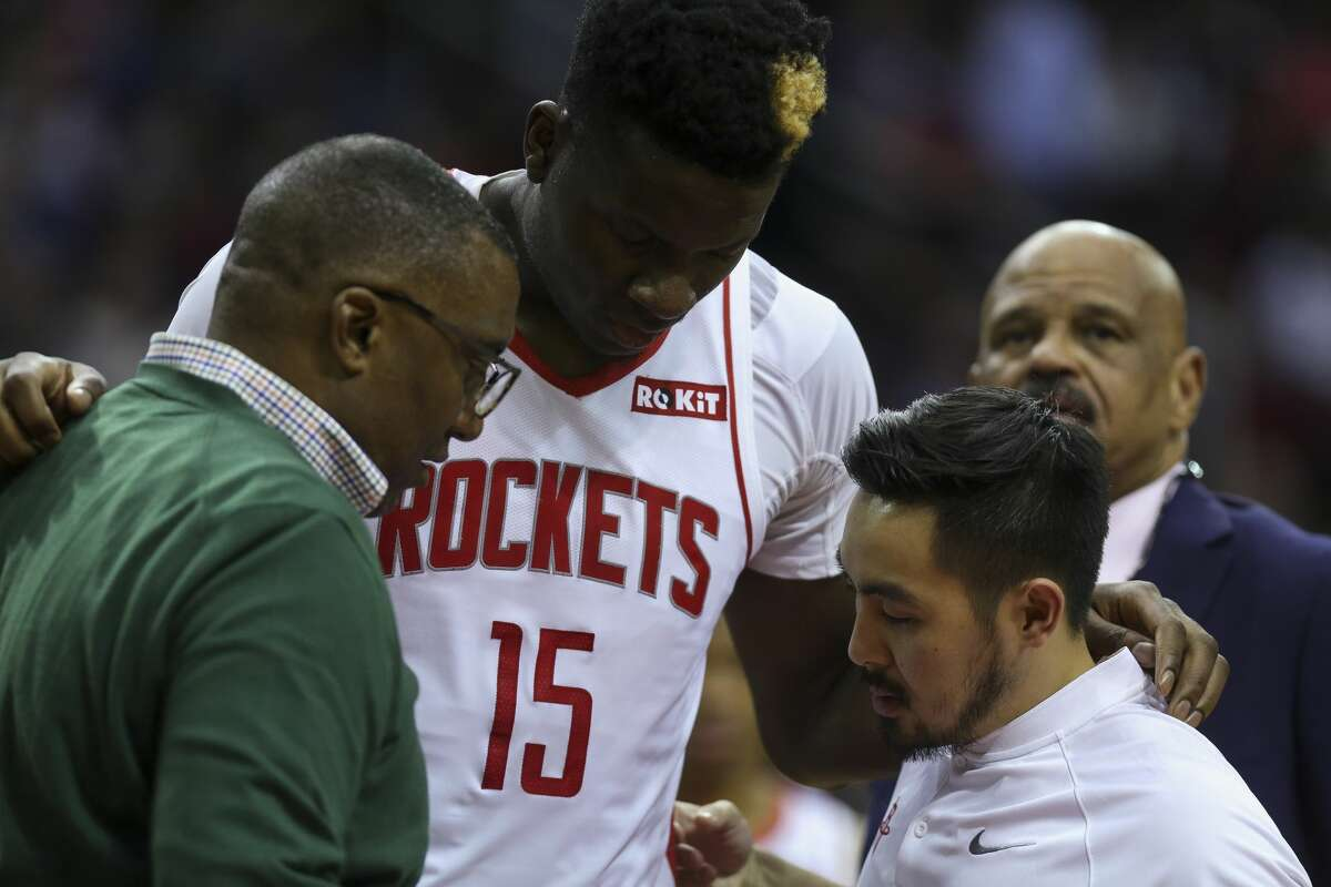 Clint Capela had missed the Rockets' back-to-back games Friday and Saturday because of his time in concussion protocol.